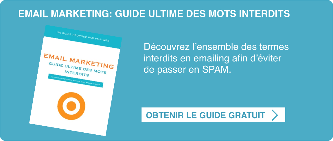 Emailing Guide Gratuit Mots Interdits