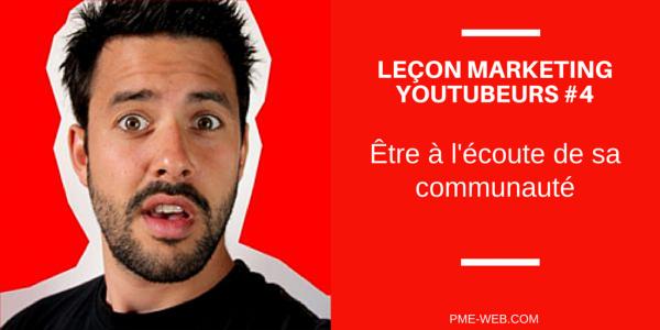 Leçon marketing YouTubeur 4 - LEGRANDJD