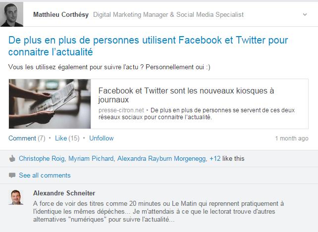 Groupe LinkedIn 1