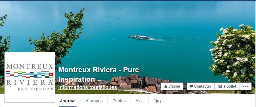 Montreux Tourisme Facebook