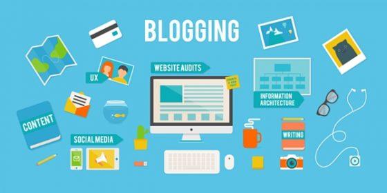 Blog marketing visuel