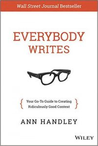 Everybody writes - Anne Handley