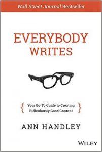 Everybody writes - Anne Handley