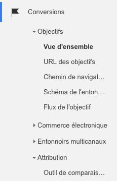 google analytics conversion