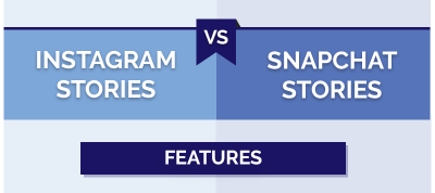 Instagram Stories vs Snapchat Stories : le comparatif complet