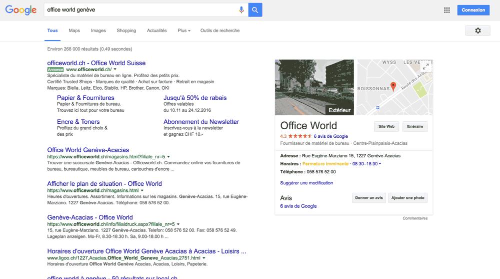 Google My Business pour Optimiser sa position dans les moteurs de recherche
