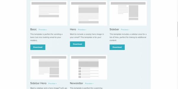 ZURB emailing html