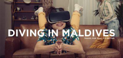Une campagne nous montre tout le ridicule des casques de réalité virtuelle