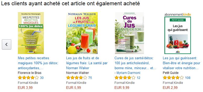 Amazon livres liés