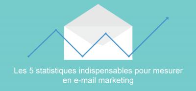 Les 5 statistiques indispensables à mesurer en e-mail marketing