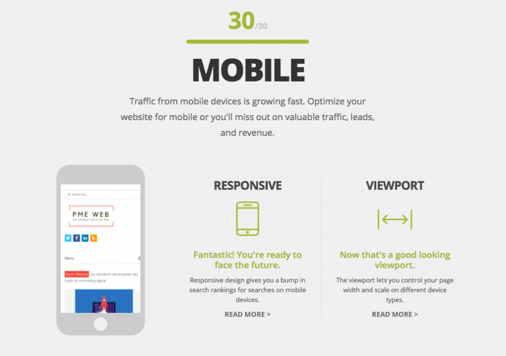 Website Grader Mobile