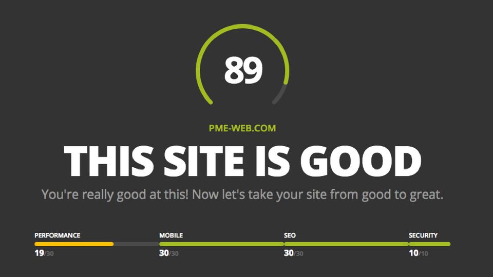 Un outil gratuit pour valuer la performance de votre site for Site architecture gratuit