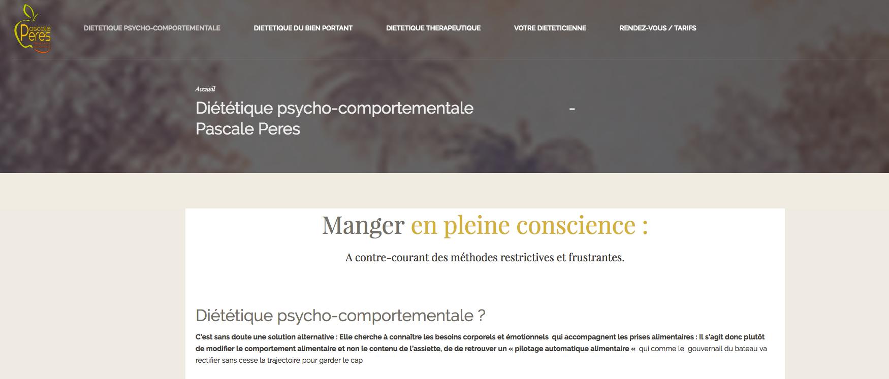 tuto wordpress lien encre menu diet valence studiopaon client page début