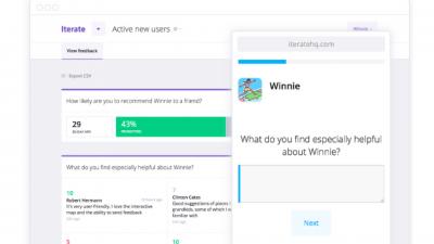 Une alternative à Google Forms pour créer des sondages en ligne: Iterate