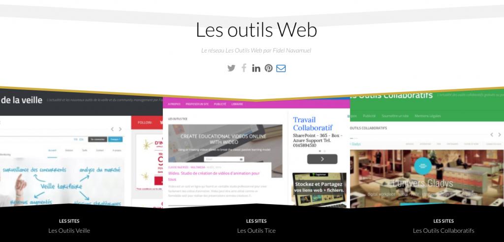 Les outils Web