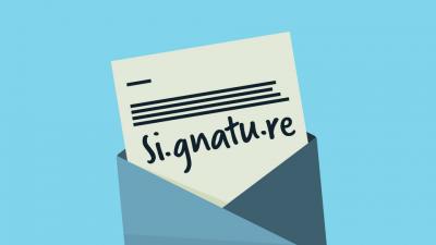 Un outil gratuit pour créer une signature mail html avec une image : Si.gnatu.re