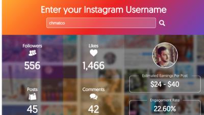 Un outil gratuit pour calculer le coût d'une publication sponsorisée sur Instagram