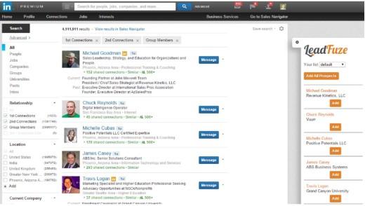 LinkedIn LeadFuze