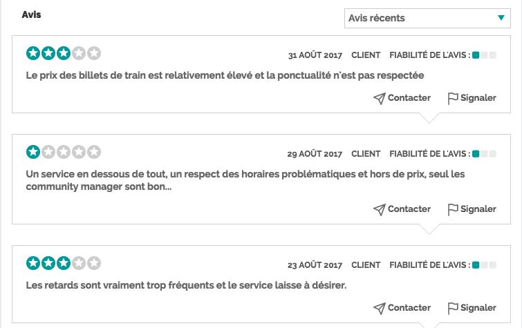 SNCF avis
