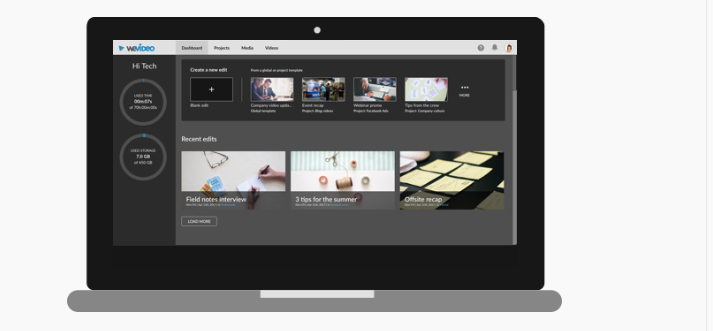 WeVideo logiciel