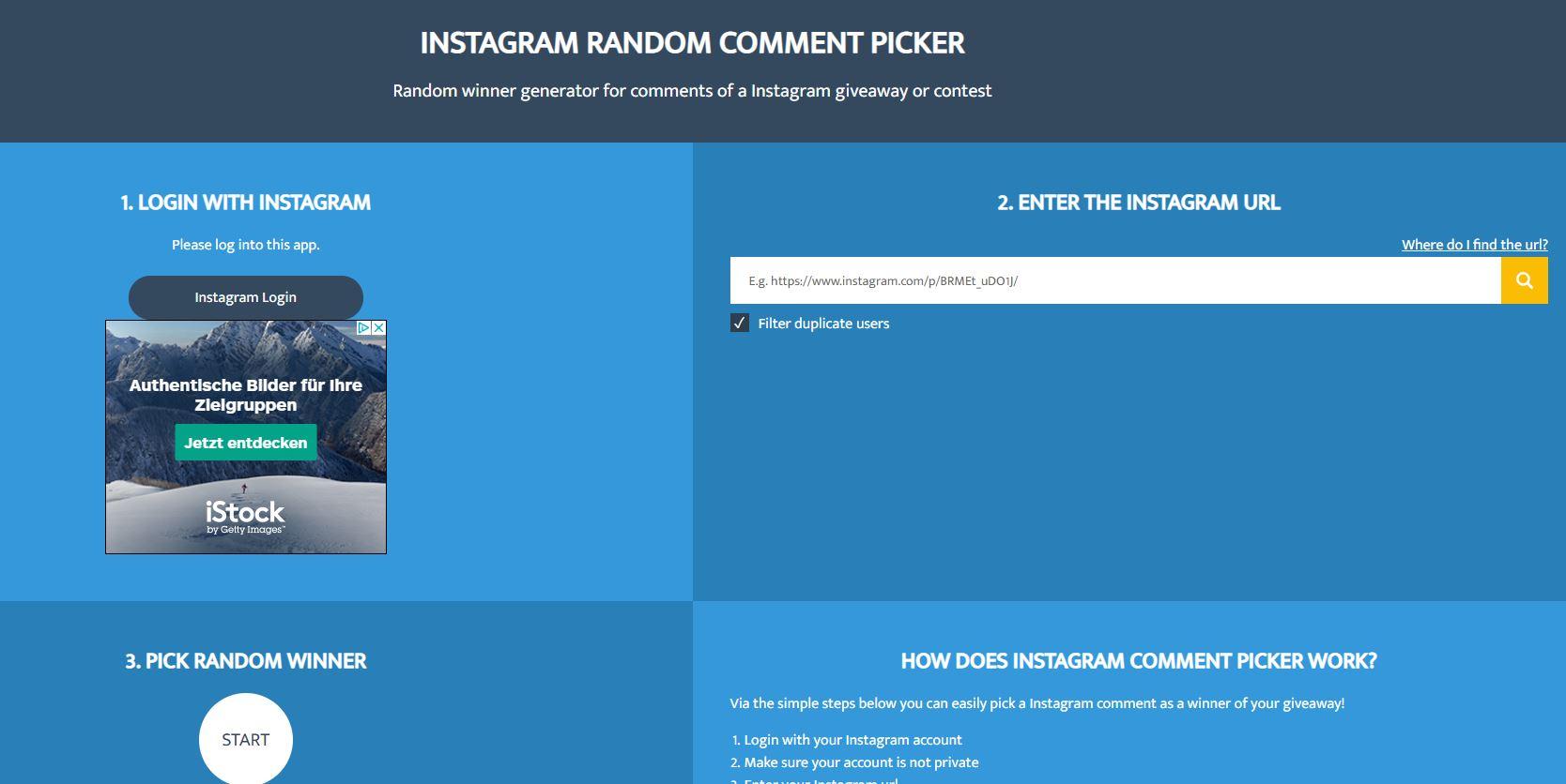 Les 4 meilleurs outils gratuits pour un tirage au sort sur Instagram