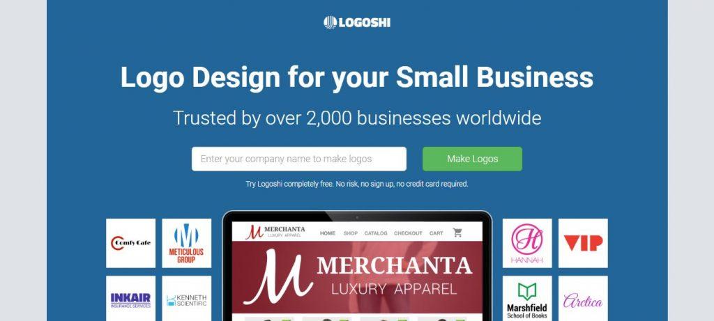 7. Logoshi (www.logoshi.com)