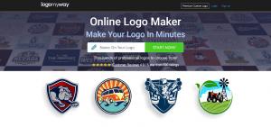creer logo avec logomyway