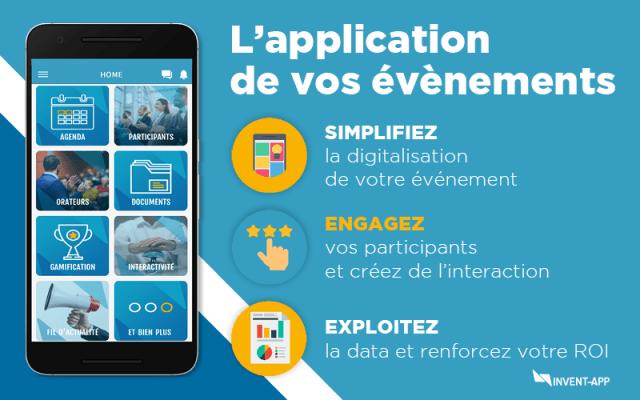 Invent App : l'application mobile qui vous accompagne dans vos évènements